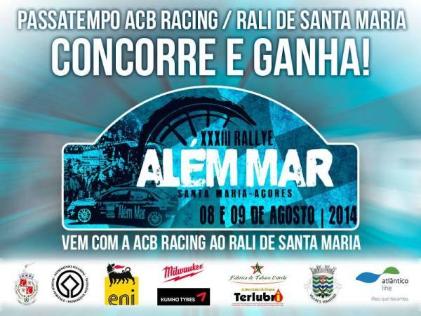 Passatempo ABC Racing Rali de Santa Maria