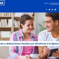 Desgravaciones y deducciones fiscales por donativos a la Iglesia