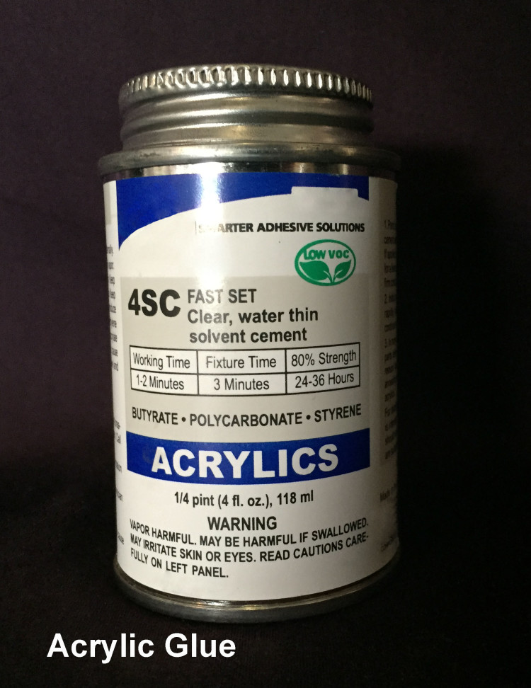 Acrylic Cement Glue (4oz)