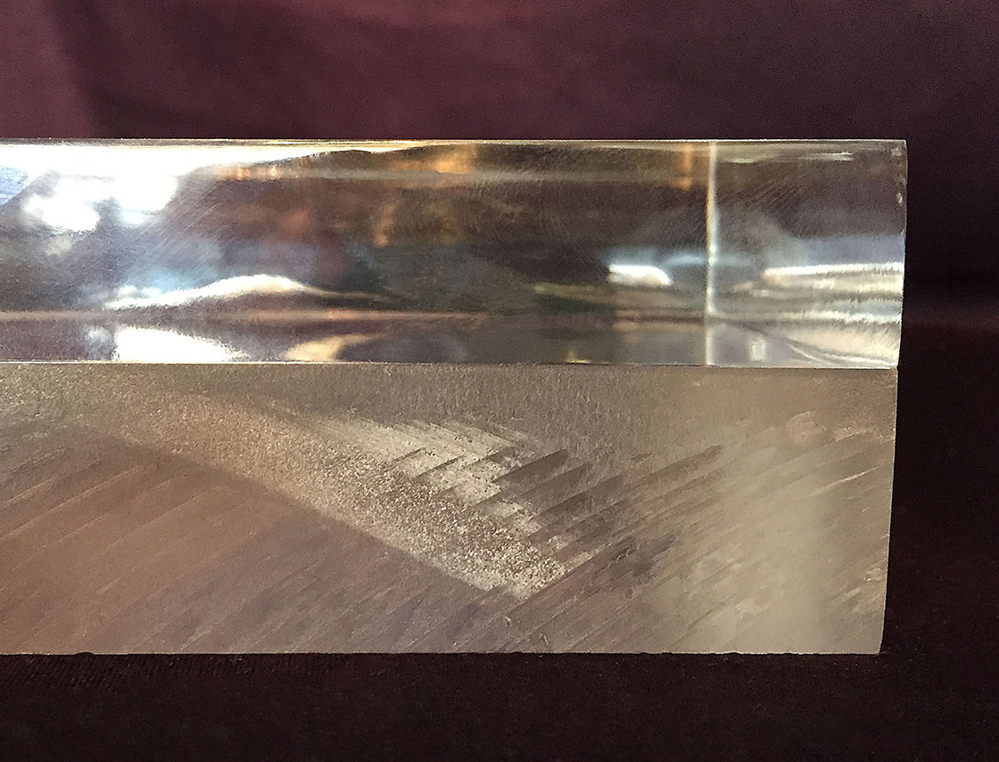 Polished Straight Edges