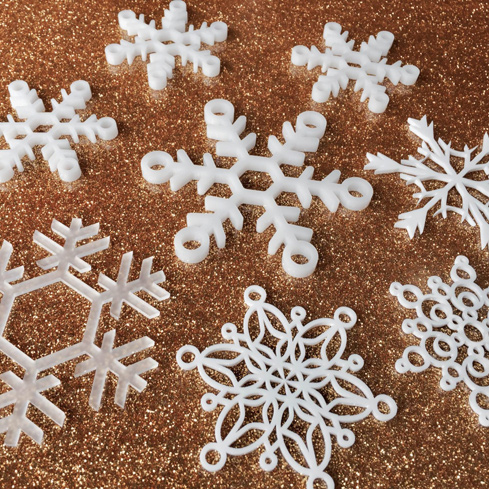 Decorative Acrylic Snowflakes For Your Tree