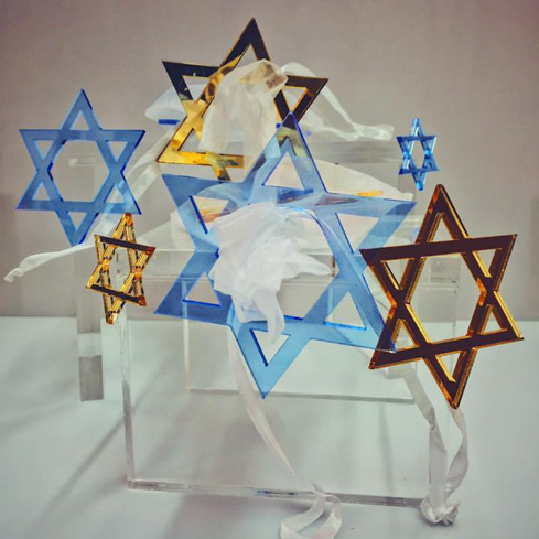 Holiday Jewish Stars