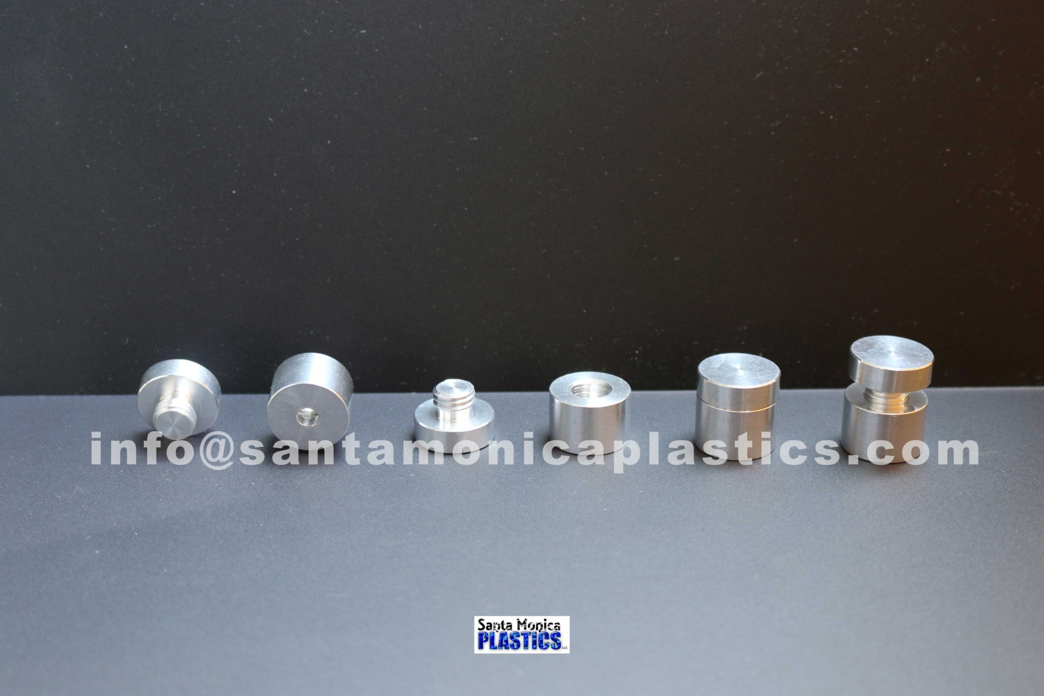 "Aluminum Standoffs #3 Size 0.75"" X 0.74"" (4 Pieces)"