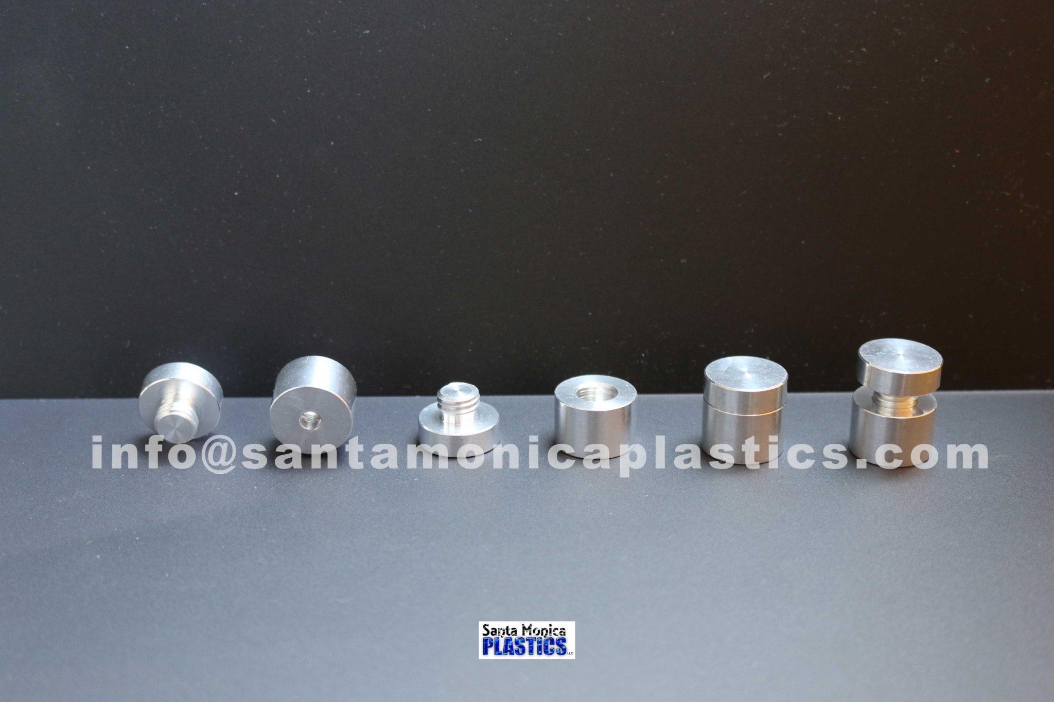 "Aluminum Standoffs #3 Size 0.75"" X 0.74"" (4 Pieces)"