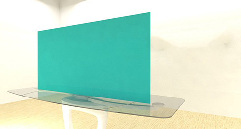 Acrylic Sheets – Cut To Size –  Opaque Aqua Green – S3190