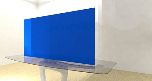 Acrylic Sheets – Cut To Size – Opaque Light Azure Blue – S2648
