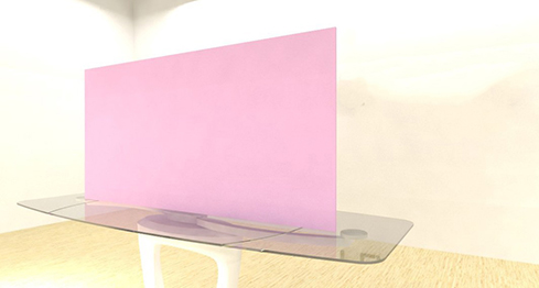Acrylic Sheets – Cut To Size –  Opaque Light Blush Pink – S6067