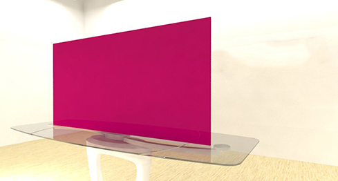 Acrylic Sheets – Cut To Size –  Opaque Magenta Pink – S100