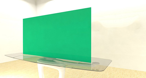 Acrylic Sheets – Cut To Size –  Opaque Mountain Green – S2705