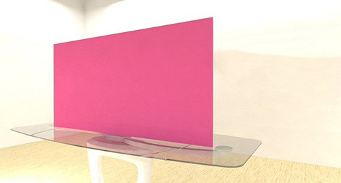 Acrylic Sheets – Cut To Size –  Opaque Pink Rouge – S3199