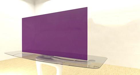 Acrylic Sheets – Cut To Size –  Translucent Plum Purple – S373