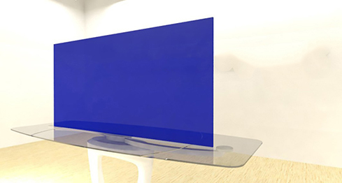 Acrylic Sheets – Cut To Size – Transparent Cobalt Blue – S2424