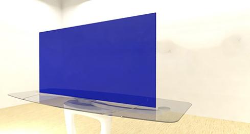 "Blue-Dark Transparent Acrylic Plexiglass sheet 1//8/"" x 24/"" x 24/"" #2424"