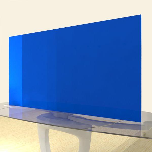 Acrylic Sheets – Cut To Size – Opaque Light Azure Blue – S2648