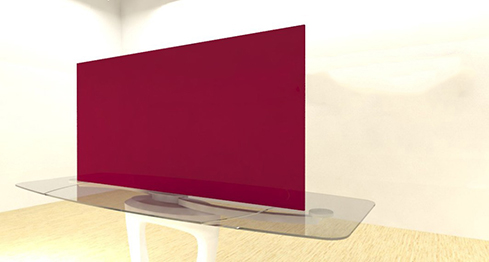 Acrylic Sheets – Cut To Size –  Burgundy – S101