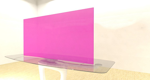 Acrylic Sheets – Cut To Size –  Fluorescent Pink – S2085