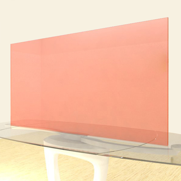 Acrylic Sheets – Cut To Size –  Fluorescent Orange – S9096