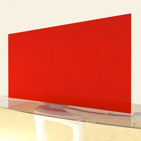Acrylic Sheets – Cut To Size –  Opaque Apple Red – S2662