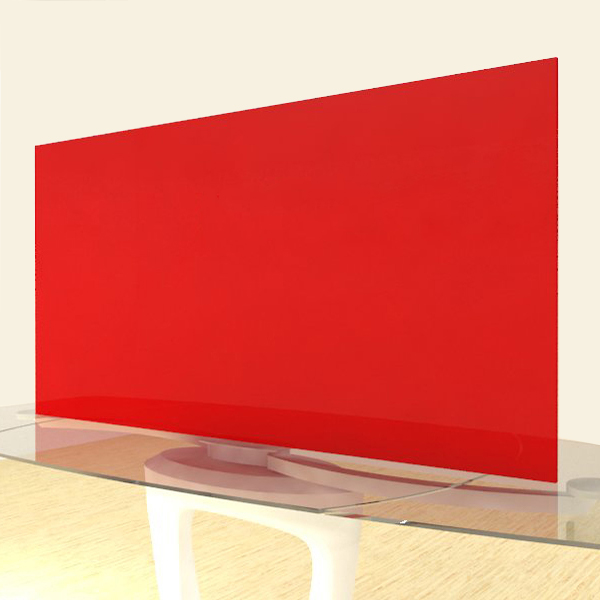 Acrylic Sheets – Cut To Size –  Translucent Ferrarri Red – S2283