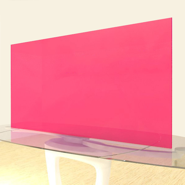 Acrylic Sheets – Cut To Size –  Fluorescent Red – S9095