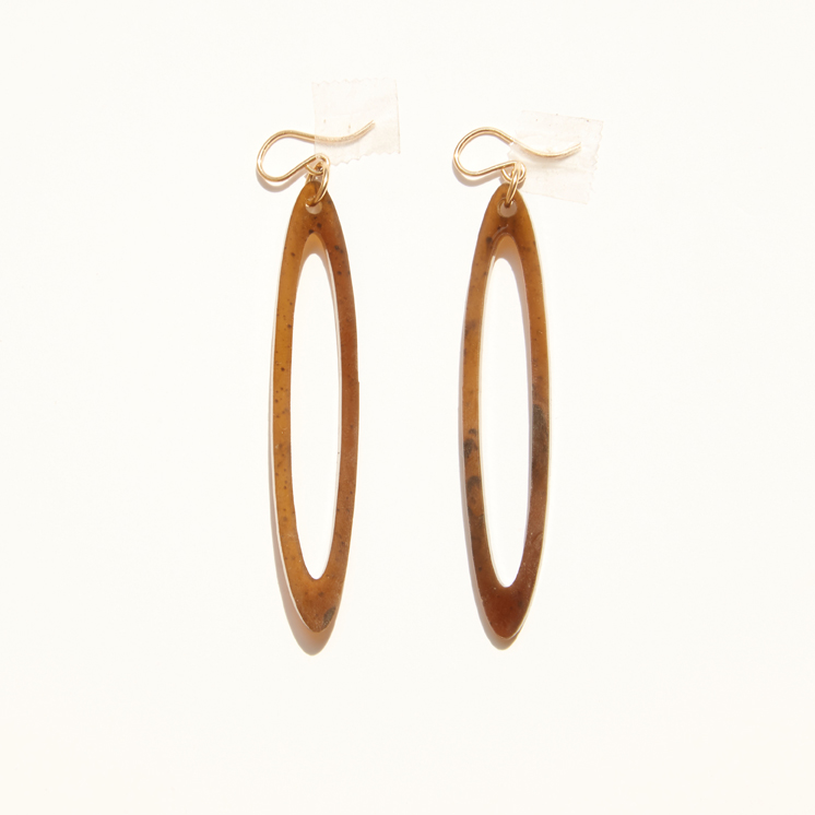 Leona Drop Earring – Cocoa