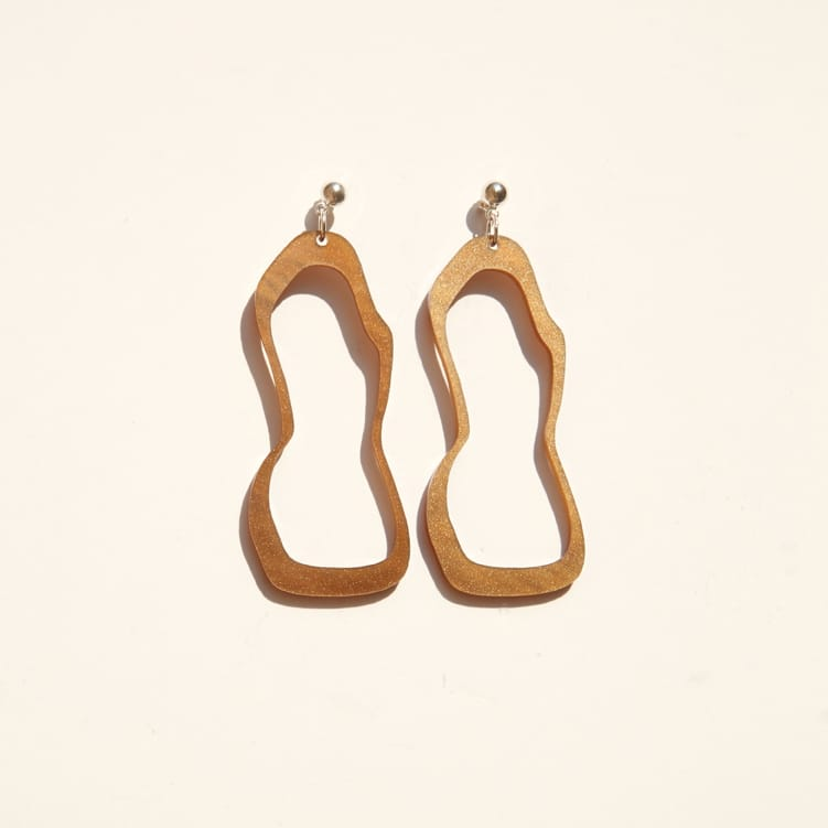 Alana Drop Earrings – Cocoa