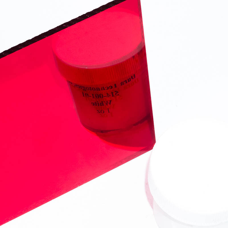 Mirror Sheets – Cut To Size –  Red Acrylic Mirror 1400