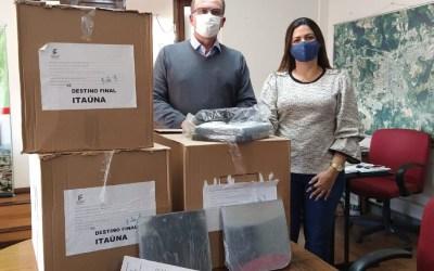 IFMG repassa 1.000 máscaras para Itaúna