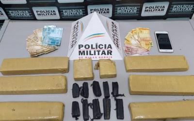 Dupla é detida com maconha após denúncia em Pará de Minas