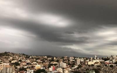 Tem previsão de chuva na região na semana com feriado de Corpus Christi