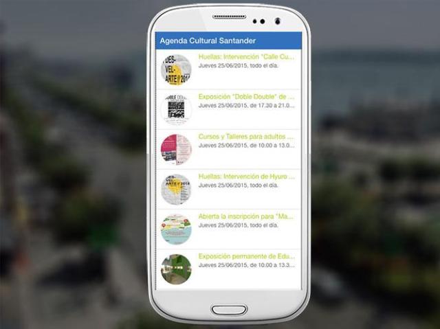 'Datos Abiertos Santander' permite crear cuatro nuevas apps, una para relojes inteligentes