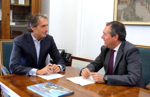 Santander y Sevilla fijan líneas de colaboración en innovación, cambio climático, turismo y cultura