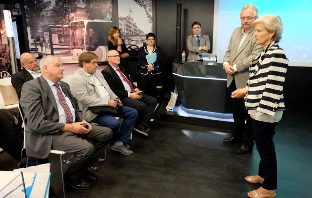 Empresarios alemanes visitan Santander para conocer el modelo de ciudad ligada a la innovación