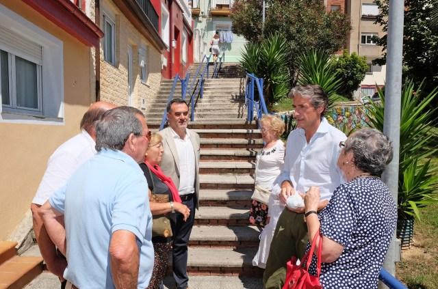El Ayuntamiento instalará escaleras mecánicas en la subida del Gurugú