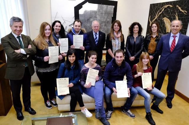 Doce jóvenes completan su formación con prácticas en el Centro Princesa Letizia y el CASYC