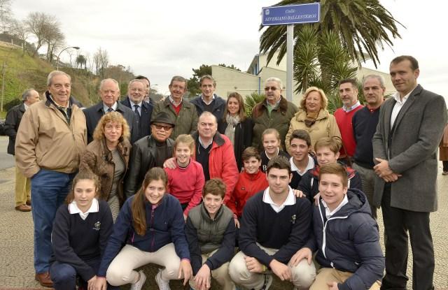 Santander da el nombre de una de sus calles a Severiano Ballesteros