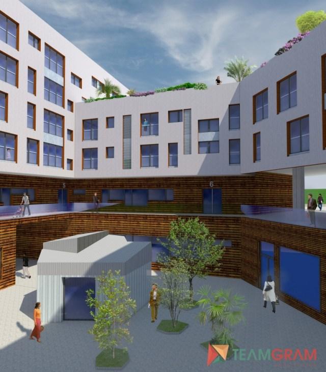 Las 70 viviendas protegidas de la calle Alta se sortearán en julio