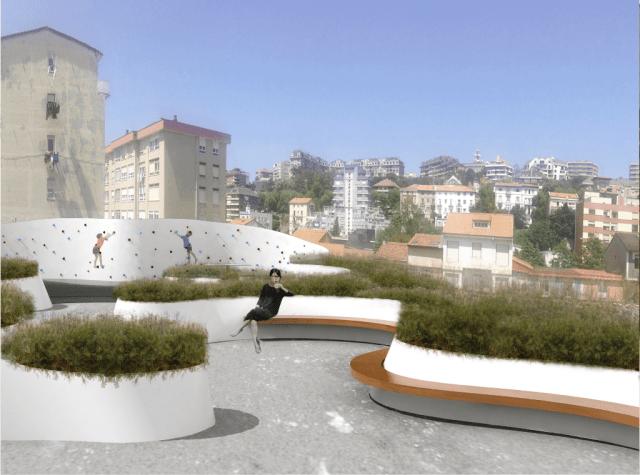 La calle Río Cubas ganará un punto de juego y encuentro innovador con el nuevo microespacio