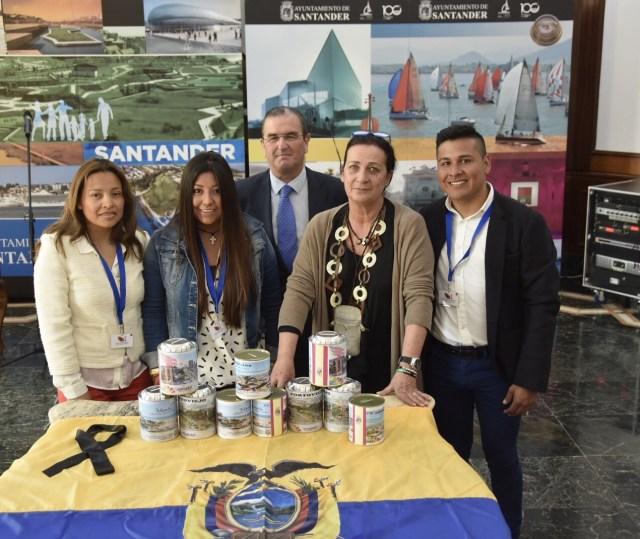 Santander se suma a la Iniciativa Universitaria Tricolor para recoger fondos para Ecuador