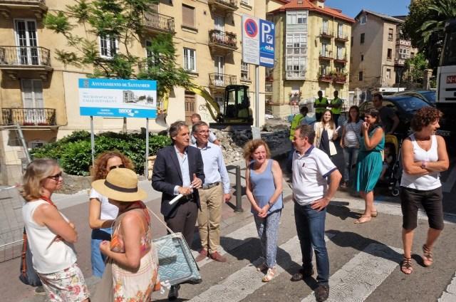 La Plaza de la Leña será a final de verano, un lugar más accesible y abierto al uso de los vecinos