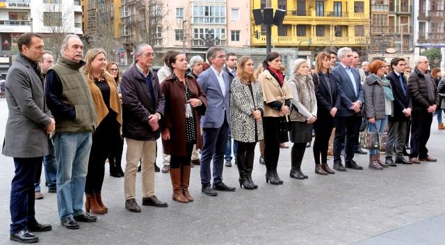 Santander guarda un minuto de silencio por las dos últimas víctimas de violencia de género