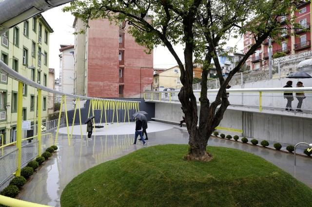 El Microespacio de San Sebastián se abre a vecinos como un espacio innovador y accesible