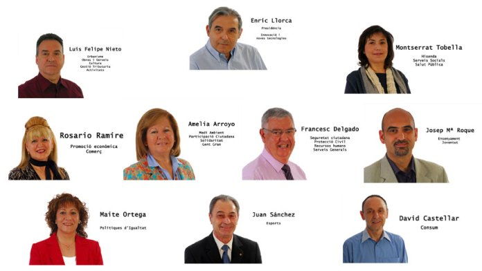 Equip de govern PSC-SAB