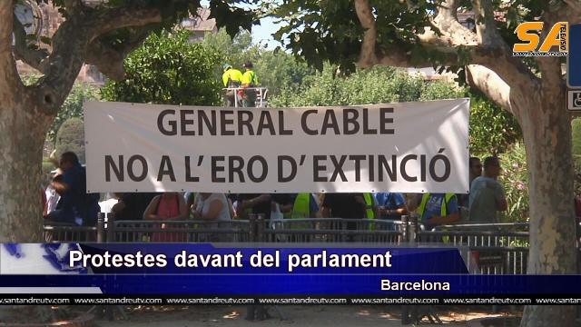 general cable protesta parlament