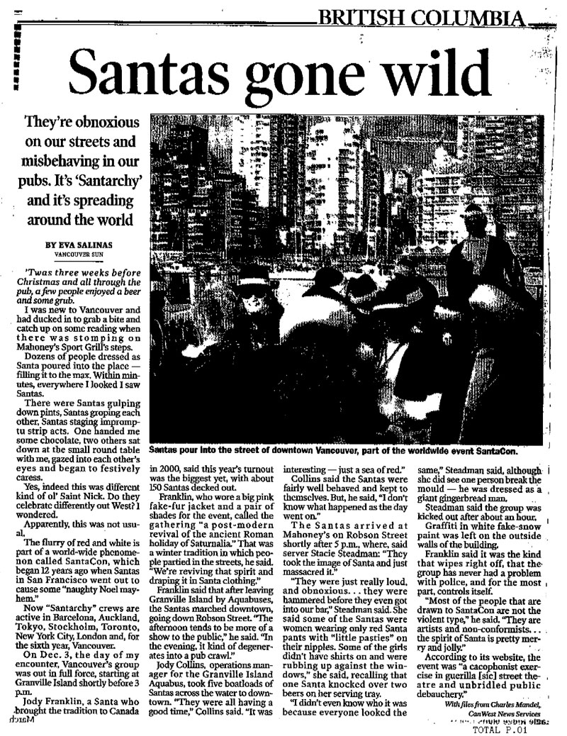Vancouver Sun (2005)