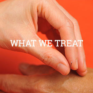 What we Treat