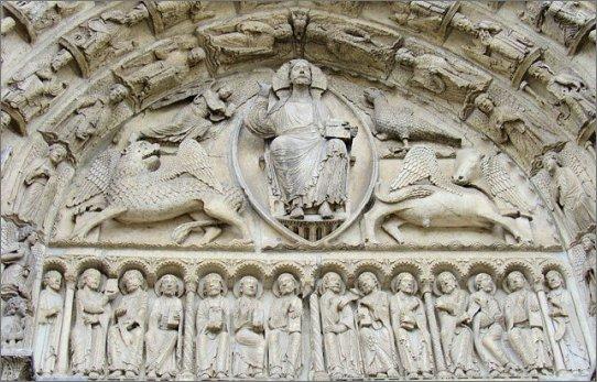 Portale della cattedrale di Chartres