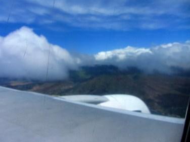 Parādās Oahu kalni