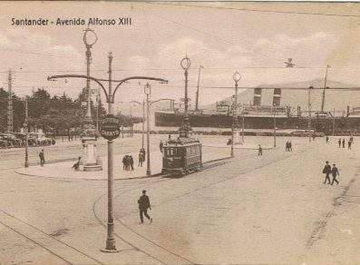 """El SPAARNDAM atracado en Santander. Fuente """"Vida Marítima"""""""