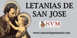 LETANIAS DE SAN JOSE